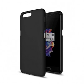 Oneplus 5 Black Silicone Cover