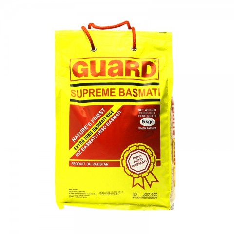 Guard Supreme Basmati Rice 5KG