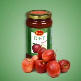Shezan Diet Apple Jam 440g