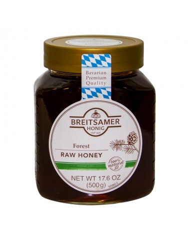 Breitsamer Forest Raw Honey 500g