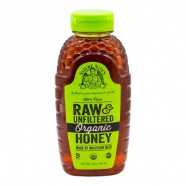 Nature Nate's Raw & Unfiltered Organic Honey 453g