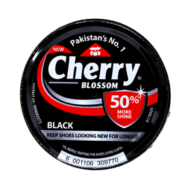 Cherry Black Shoe Polish 90ml
