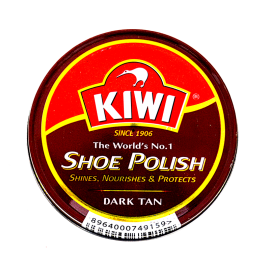 Kiwi Shoe Dark Tan Polish 45ml