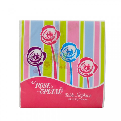 Rose Petal Table Tissues