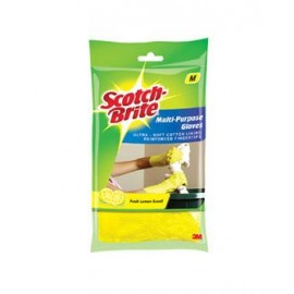 Scotch Brite Multi-purpose Medium Gloves – Yellow