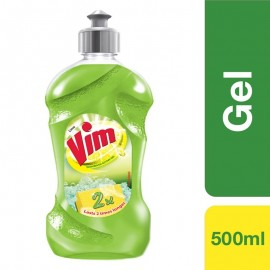 Vim Dishwash Gel Lime 500ml