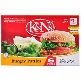 K&n's Burger Patties 6 Pcs