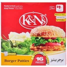 K&n's Burger Patties 16 Pcs