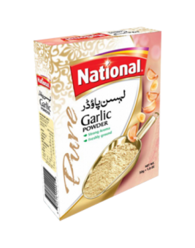 National Garlic Powder 50 gm