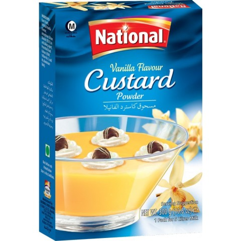 National Vanilla Flavour Custard 300g