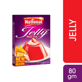 National Mix Fruit Jelly 80g