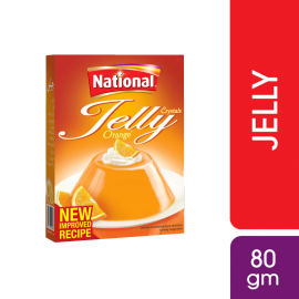 National Orange Jelly Mix 80g