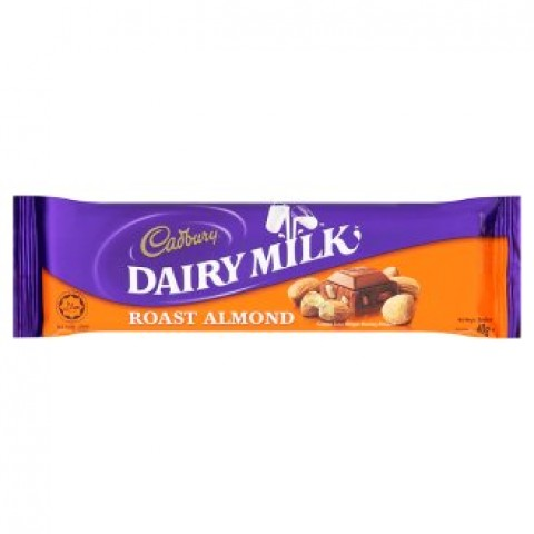 Cadbury Dairy Milk Chocolate (Almond) 40g