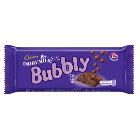 Cadbury Dairy Milk Bubbly Chocolate 87g