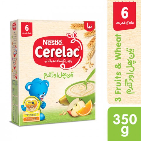 Nestle Cerelac 3 Fruits 350g