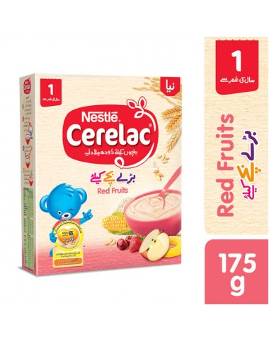 Nestle Cerelac (Red Fruits) 175g