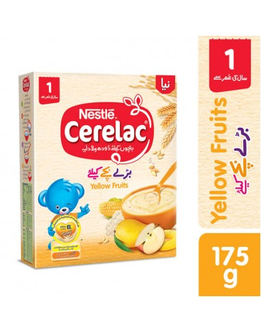 Nestle Cerelac (Yellow Fruits) 175g