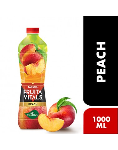 Nestle FRUITA VITALS Peach Fruit Drink - 1000ml