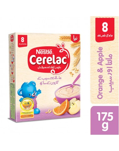 Nestle Cerelac Apple And Orange 175g
