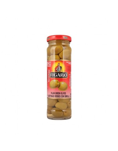 Figaro Plain Green Olives 142g