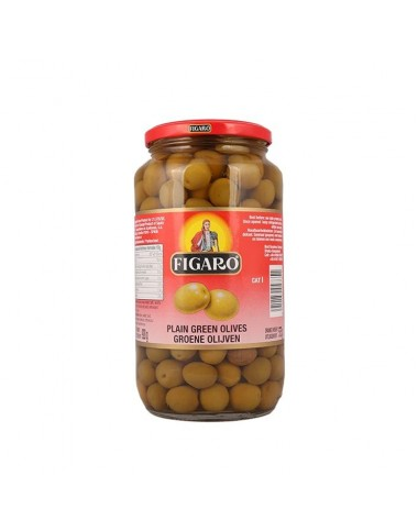 Figaro Plain Green Olives 920g
