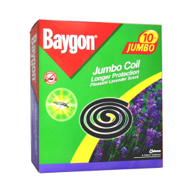 Baygon Coil Lavender Scent Jumbo