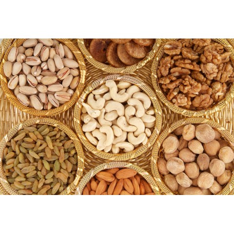 Mix Dry Fruit Basket
