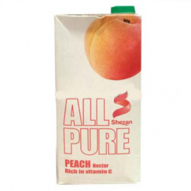 Shezan All Pure Peach 1 Litre