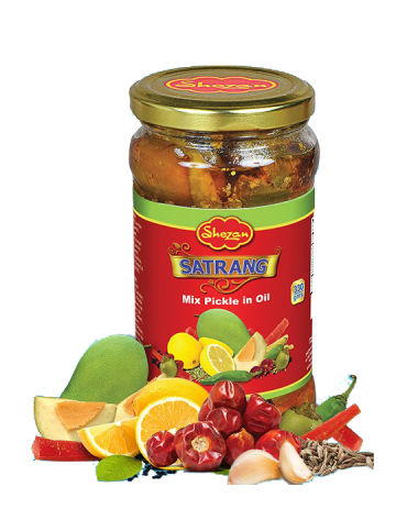Shezan Satrang Mix Pickle 325g