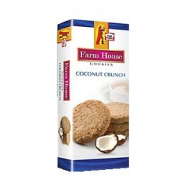 Peek Freans Coconut Crunch Cookies Half Roll