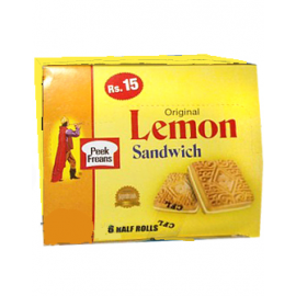 Peek Freans Lemon Sandwich Half Roll