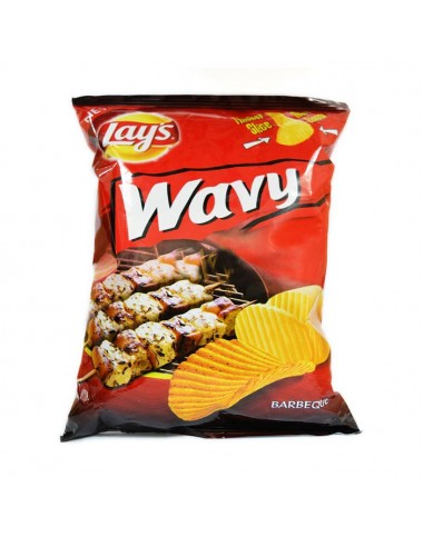 Lays Wavy BBQ Chips