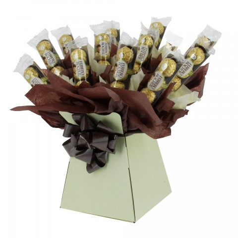 Ferrero Rocher Chocolate Bouquet Brown (Standard)