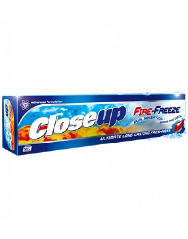 Close Up Fire Freeze Toothpaste 125g
