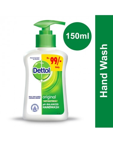 Dettol Hand Wash Original - 150ml