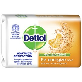 Dettol Re-energize Soap 65g