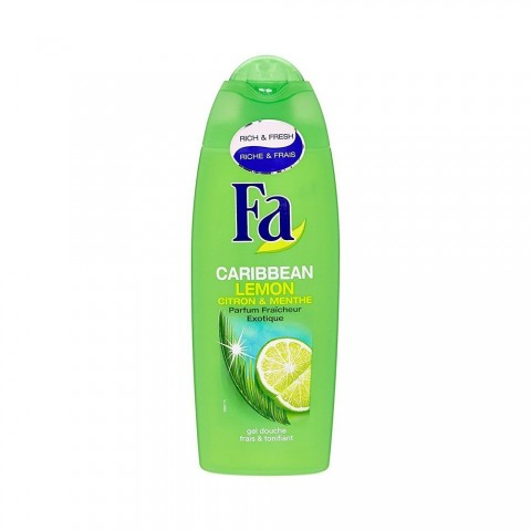 Fa Caribbean Lemon Shower Gel 250ml