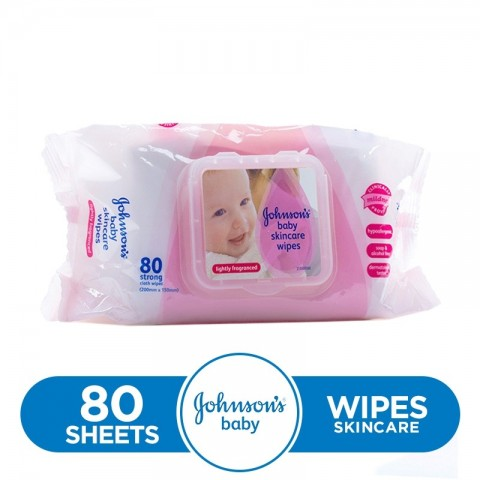 Johnsons Baby Skincare Wipes 56 wipes