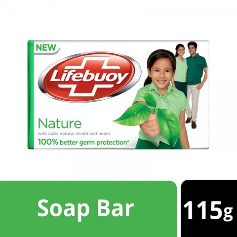 Lifebuoy Nature Soap 115g