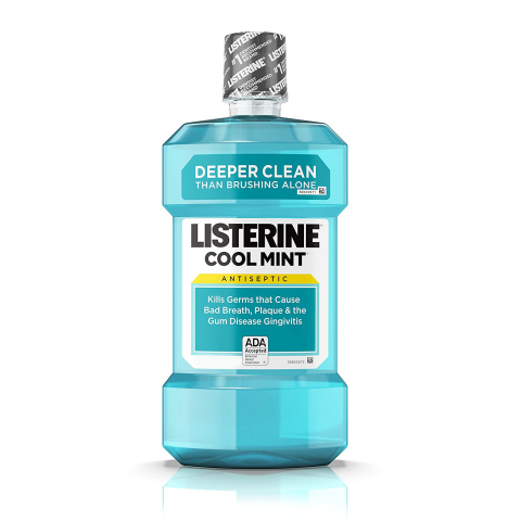 Listerine Cool Mint Mouthwash 250ml