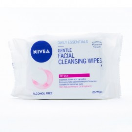 Nivea Facial Cleansing Wipes 25's