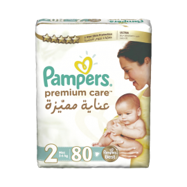 Pampers Premium Care Size 2 (80 Pcs)