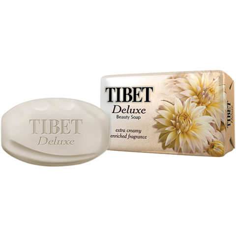 Tibet Deluxe Beauty Soap White 75g