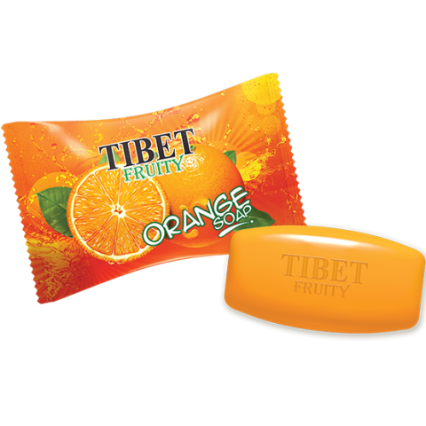 Tibet Fruity Orange Soap 150g