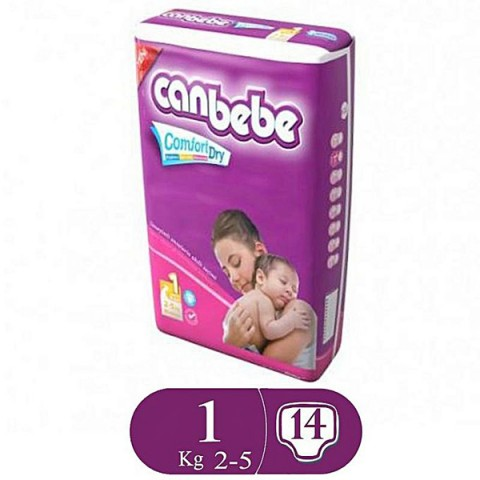 Canbebe Comfort Dry Size 1 (14 Pcs)