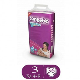 Canbebe Comfort Dry Size 3 (36 Pcs)