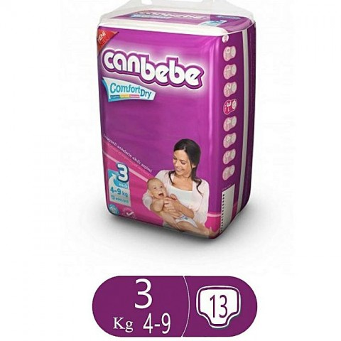 Canbebe Comfort Dry Size 3 (13 Pcs)