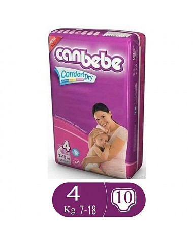 Canbebe Comfort Dry Size 4 (10 Pcs)