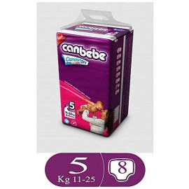 Canbebe Comfort Dry Size 5 (8 Pcs)