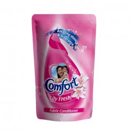 Comfort Lily Fresh Fabric Conditioner Pouch 400 Ml
